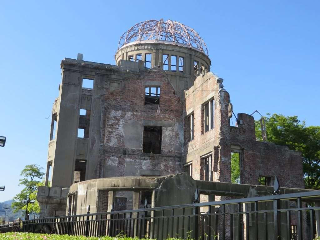 Cúpula de la bomba atómica en Hiroshima