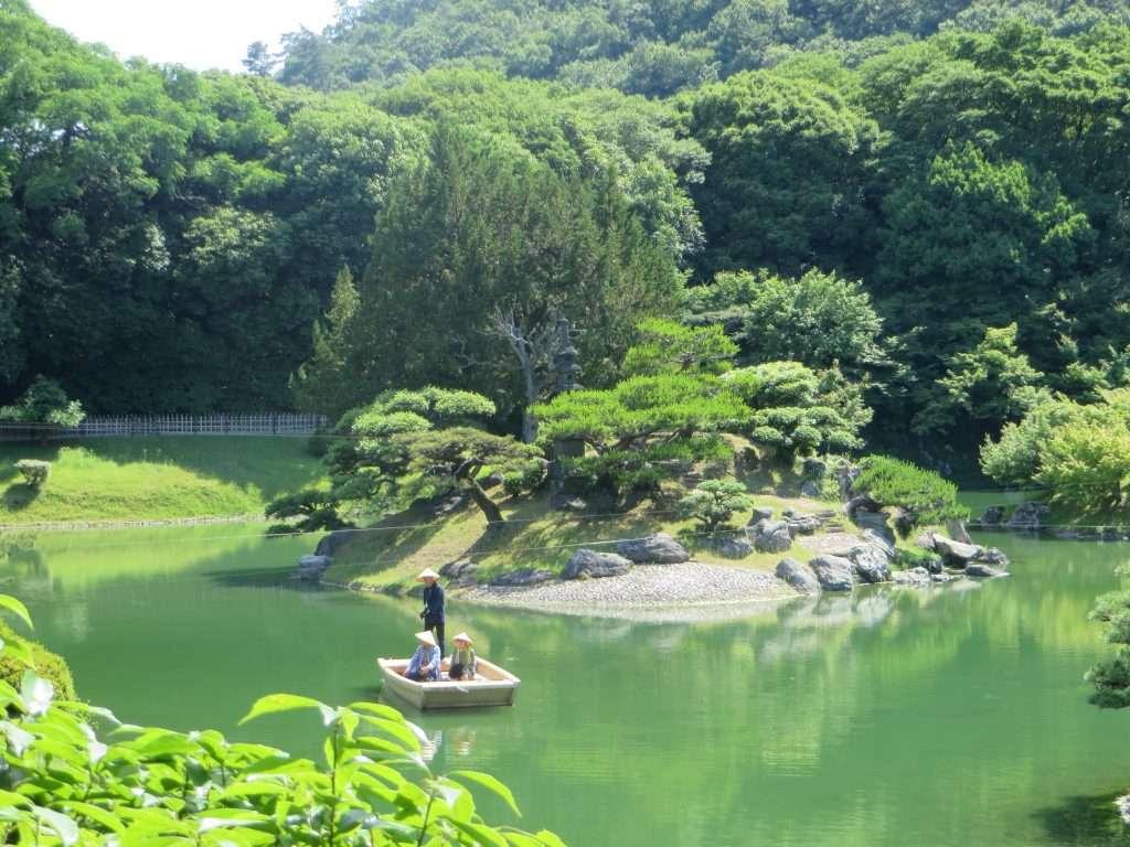 Jardín de Korakuen en Okayama.