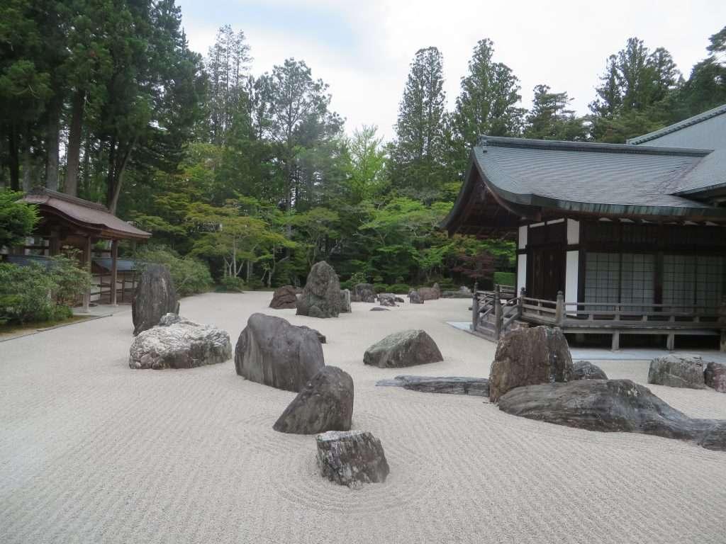 Jardín seco de Kongobuji