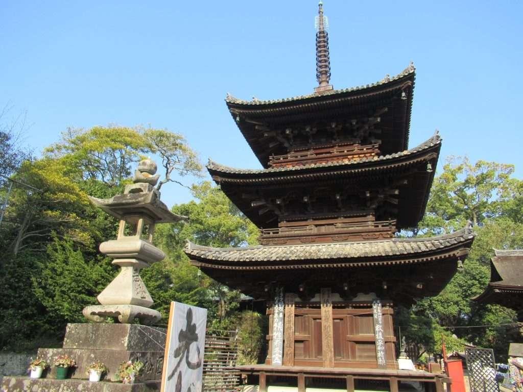 Pagoda del templo de Ishite-ji