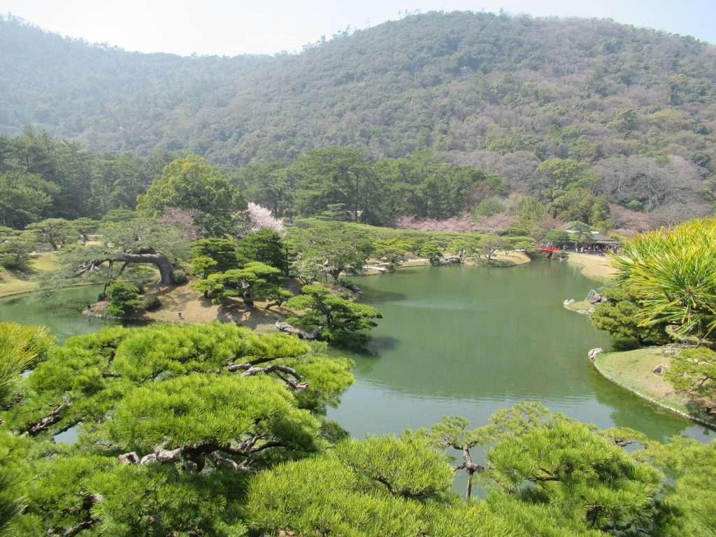 Parque de Ritsurin. Takamatsu.