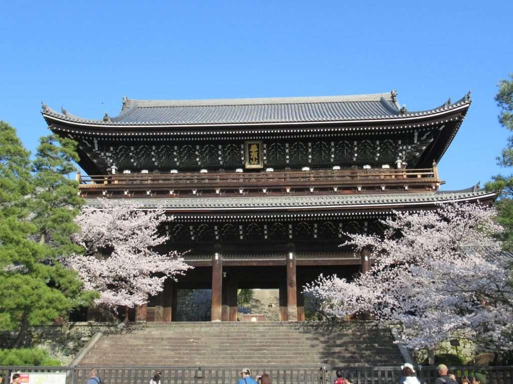 Puerta de entrada del templo Chion-in