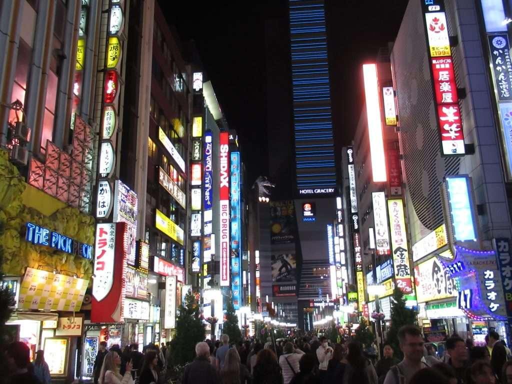 Barrio Kabuchiko con Godzilla