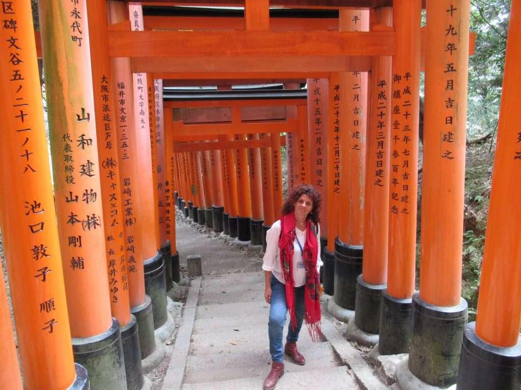 Túnel de toriis en Fushimi Inari