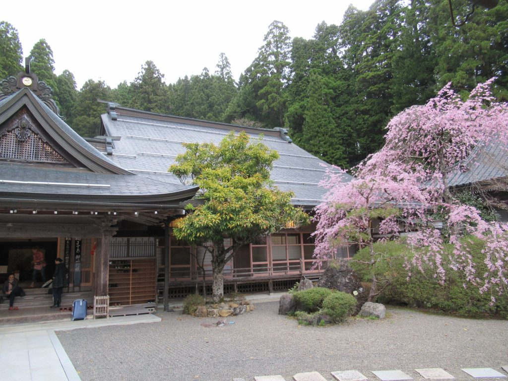 Interior del templo Hojo-in