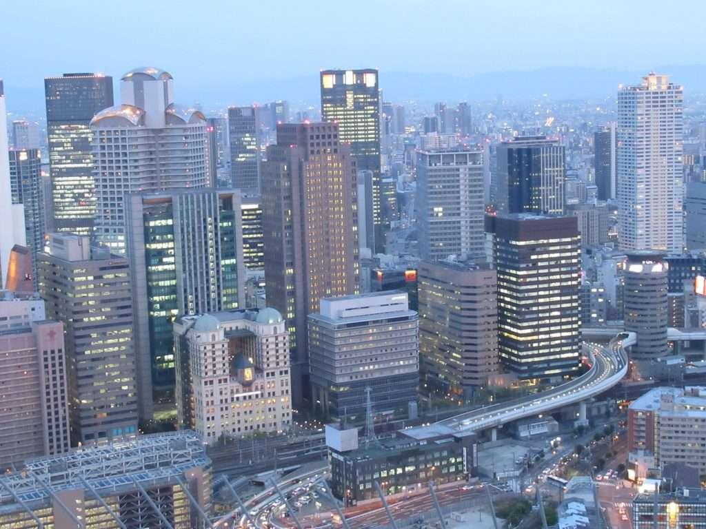 Vistas desde Umeda Sky Building