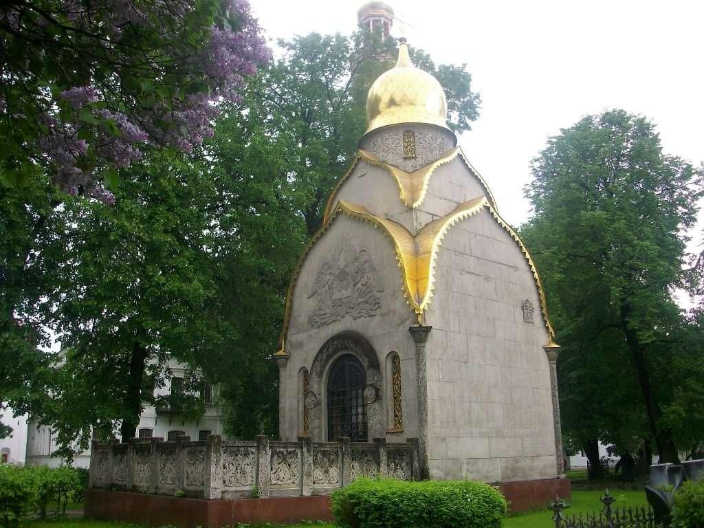 Cementerio del monasterio Novodevichi
