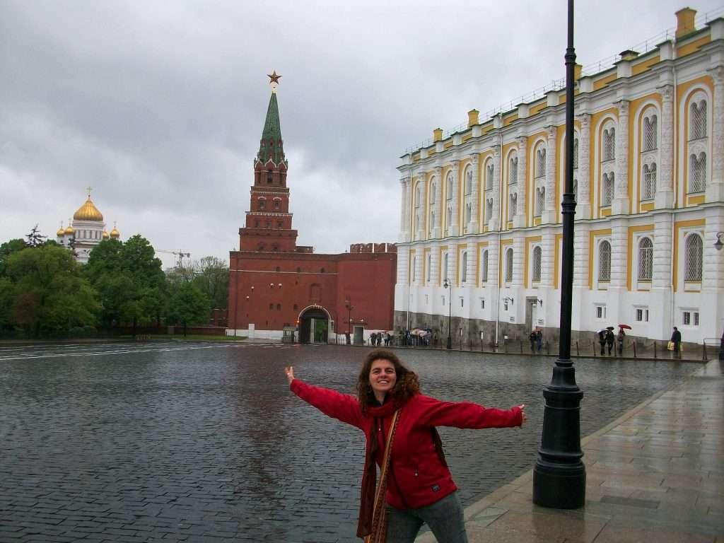 Torre de la Trinidad, entrada al Kremlin