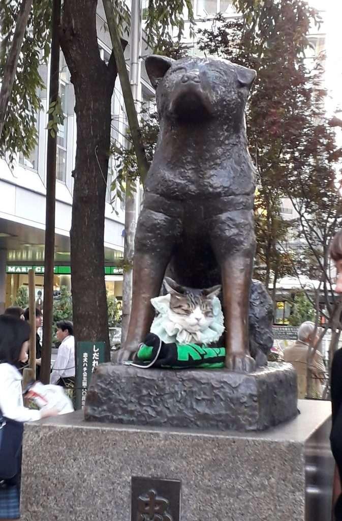 Monumento a Hachiko