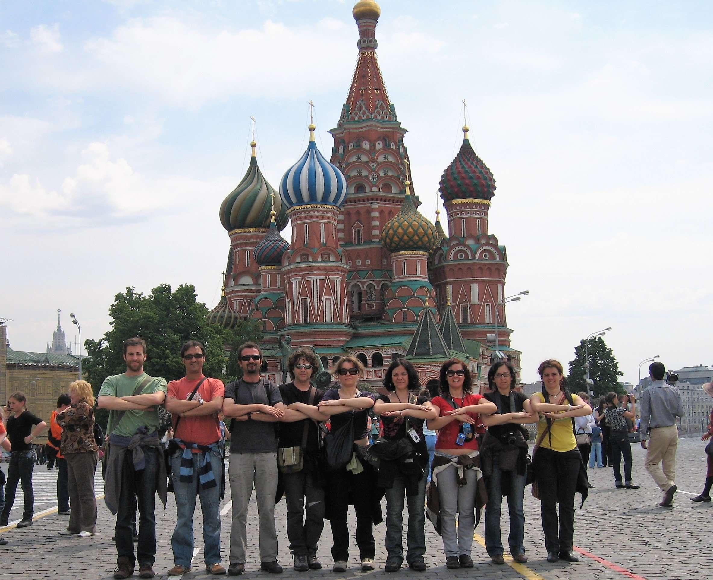 MOSCÚ Y SAN PETERSBURGO en una semana con amigos