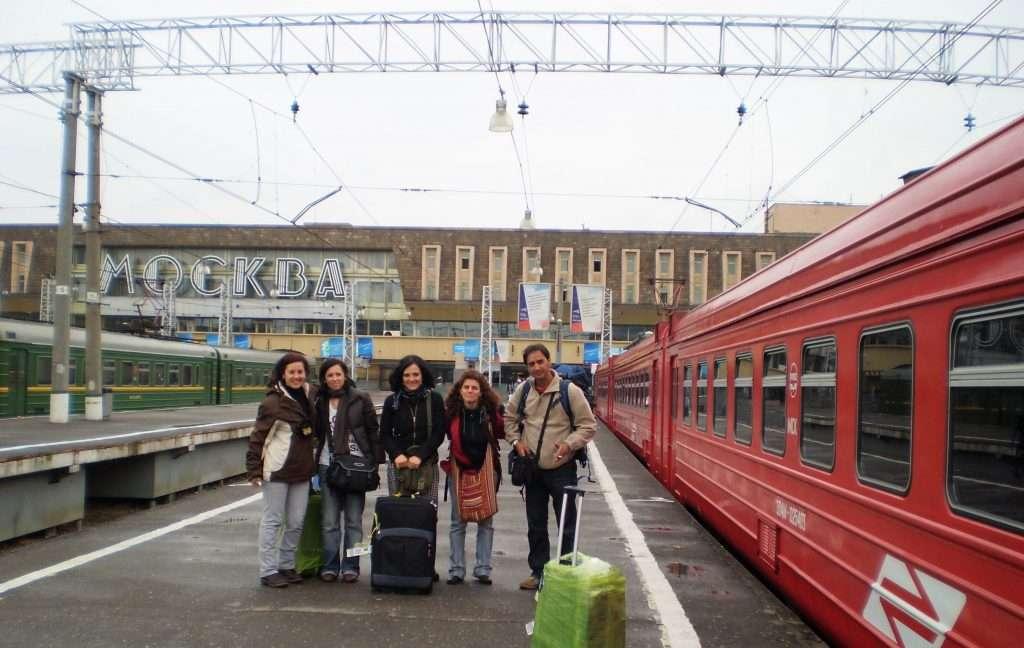 Estación de tren Moscú
