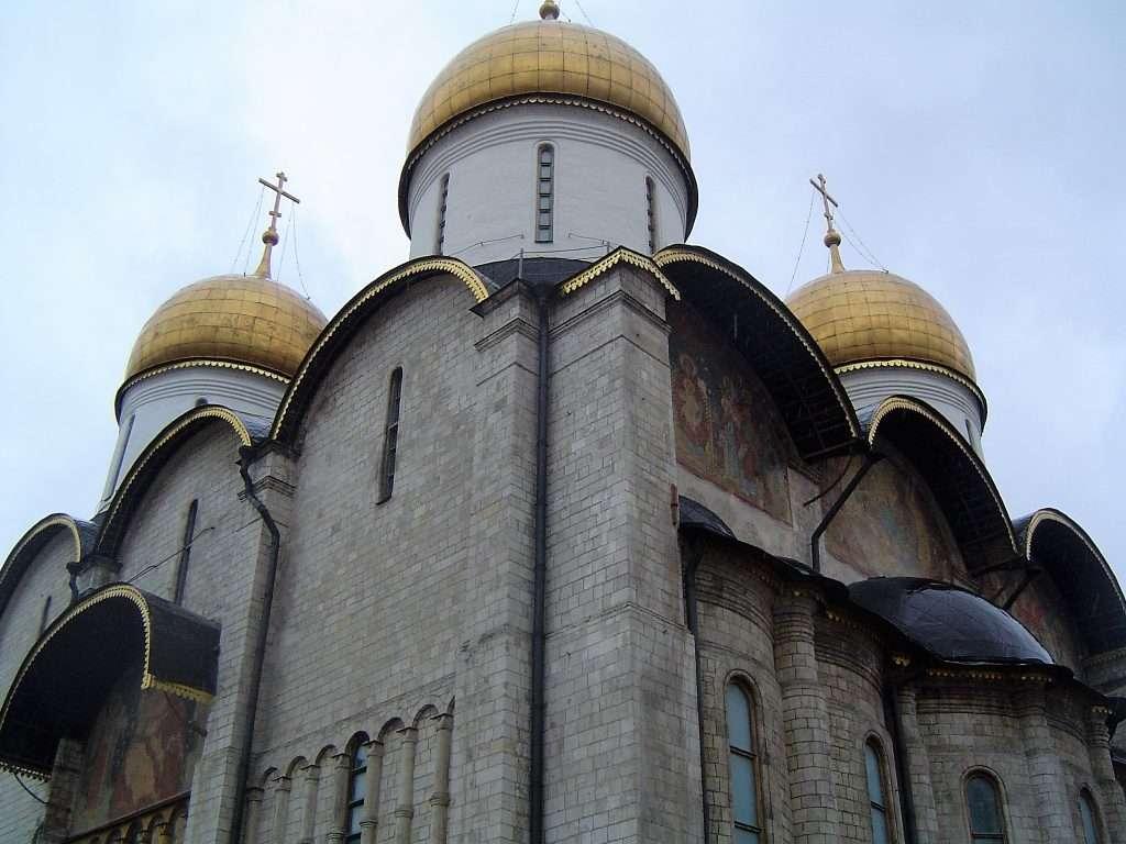 Catedral de la Asunción dentro del Kremlin