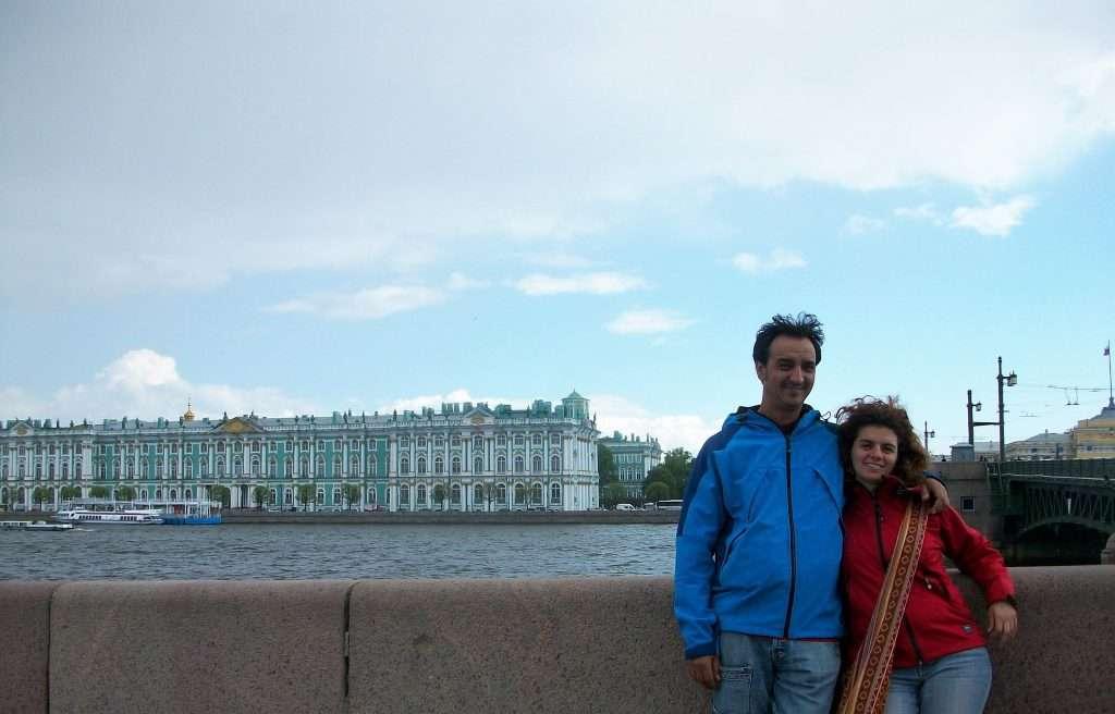 Vistas del palacio Hermitage