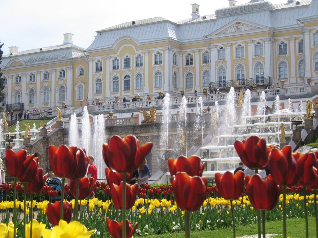 Palacio Grande, residencia de verano del zar Pedro el Grande