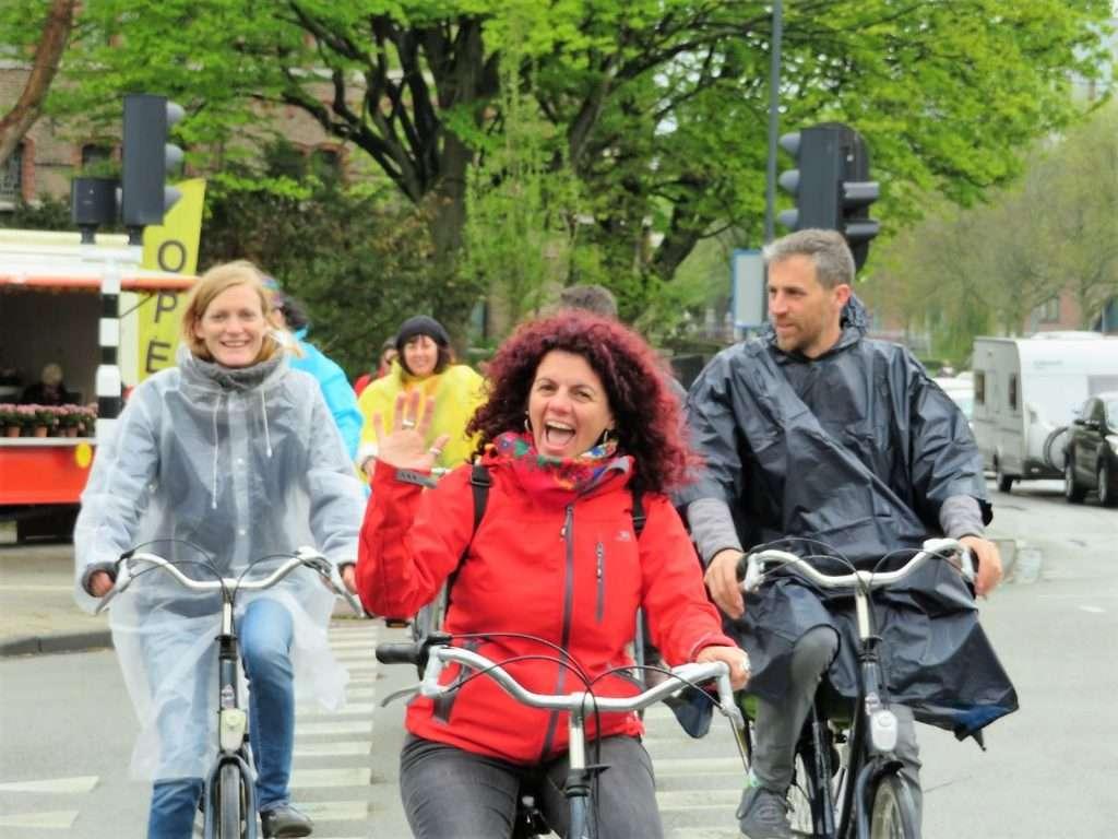 Paseo en bicicleta por Holanda