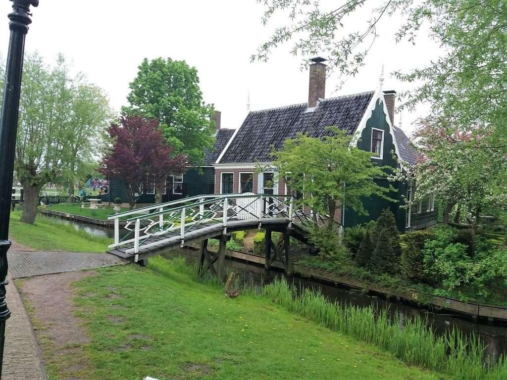 Casas típicas en Zaansche Schans