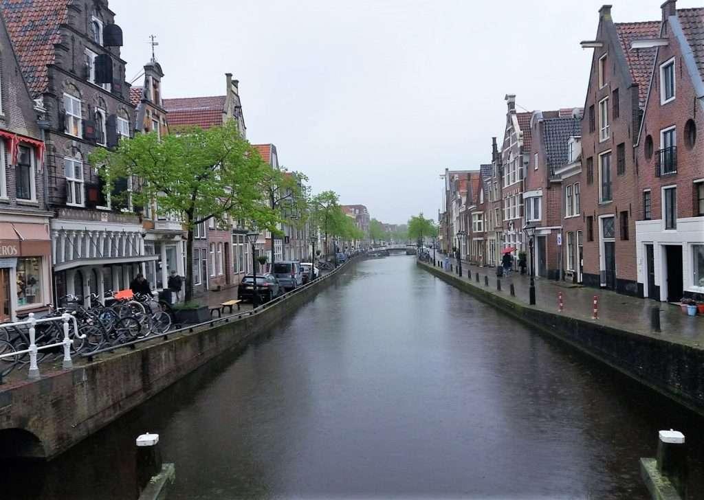 Canales de la ciudad de Alkmaar