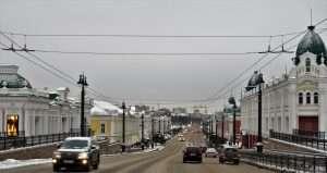 Calle Lenina de Omsk