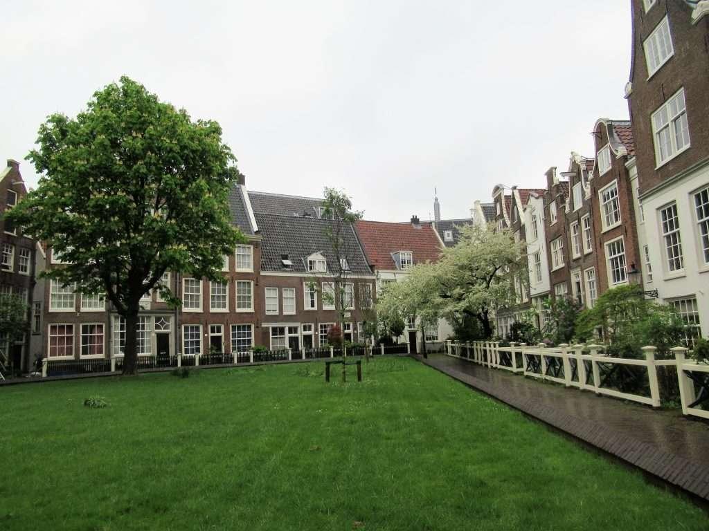 Patio de las Beguinas en Amsterdam