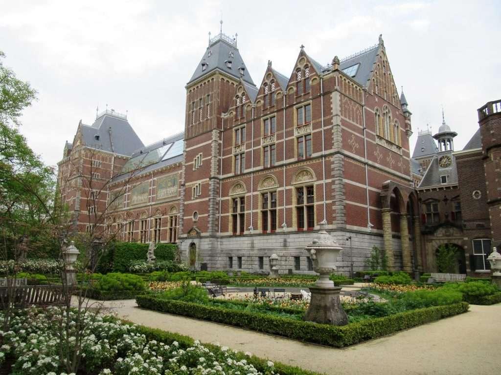 Fachada del Rijksmuseum