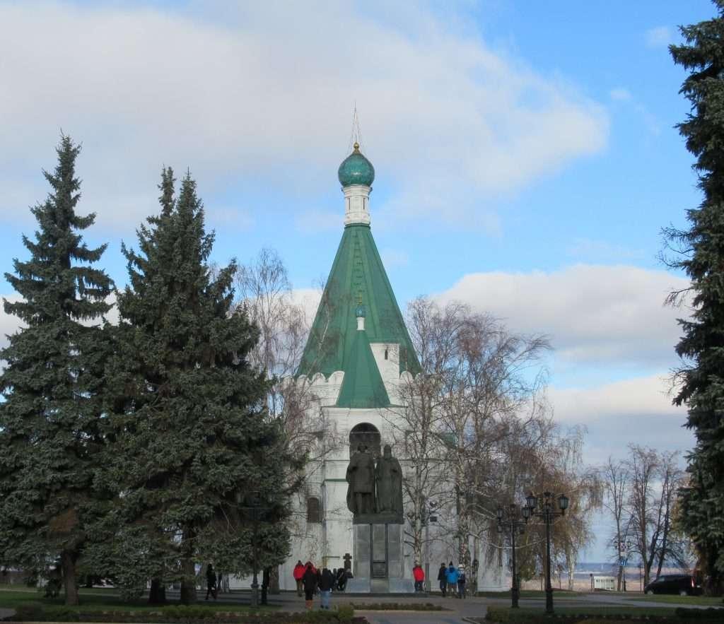 Catedral del Arcángel Miguel en Nizhni Novgorod