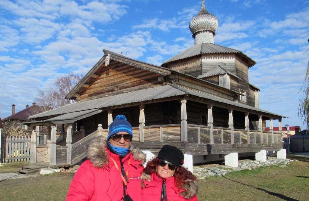 Iglesia de la Trinidad en la isla de Sviyazhsk
