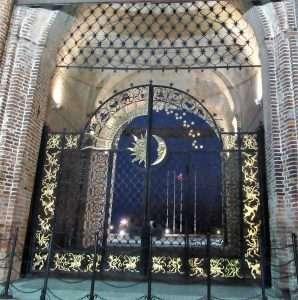 Puertas en el interior del Kremlin de Kazán