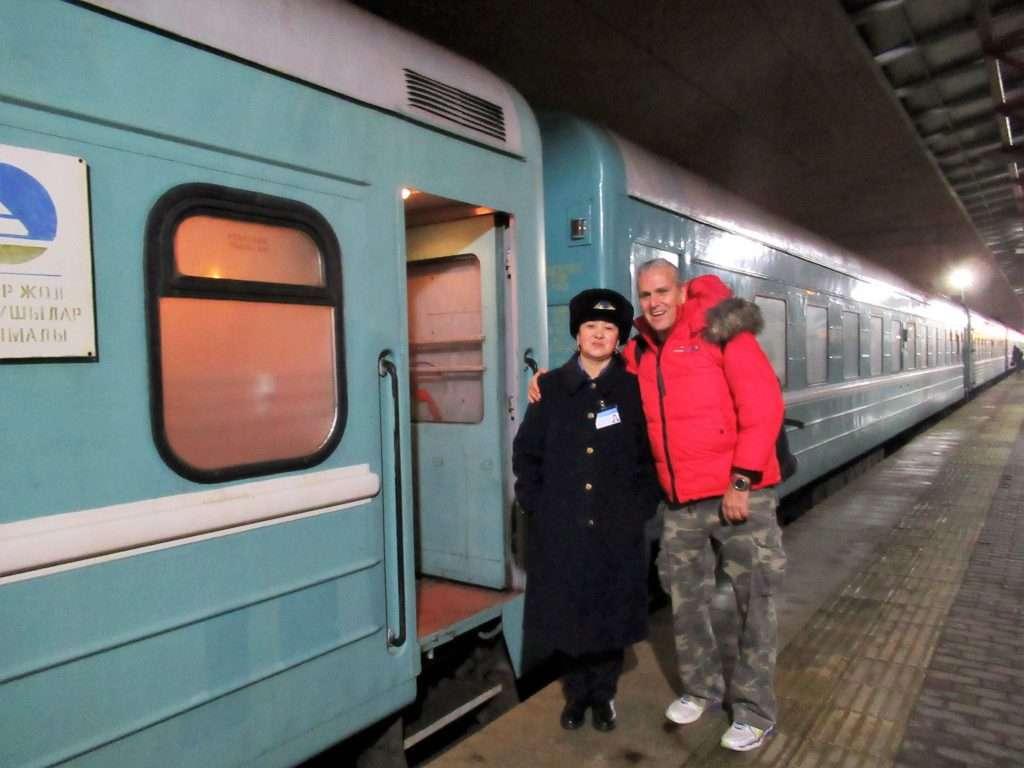 """La """"provodnitza"""", azafata del tren"""