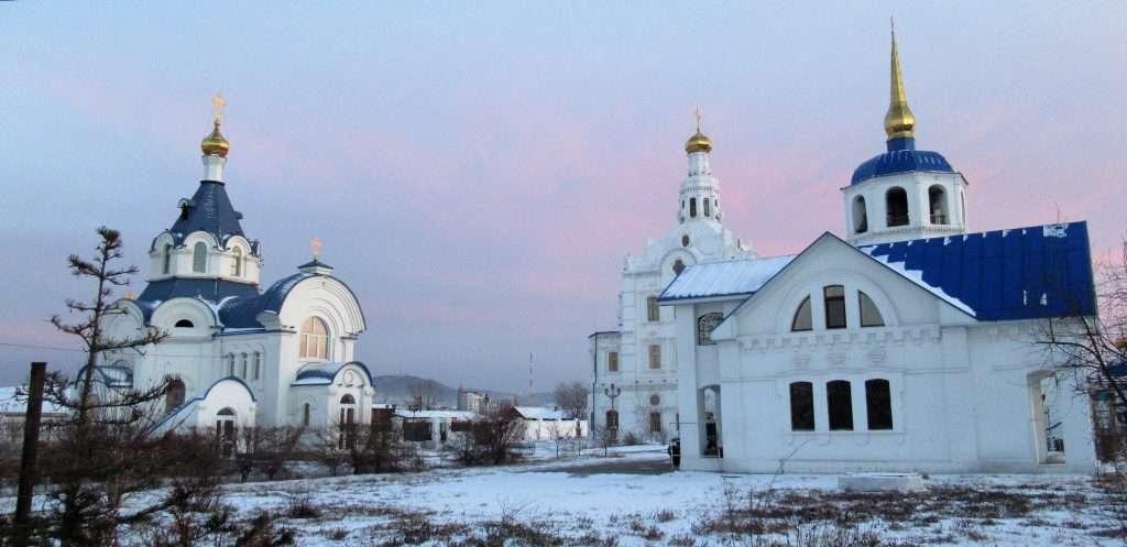 Catedral Odigitrievky en Ulan-Udé