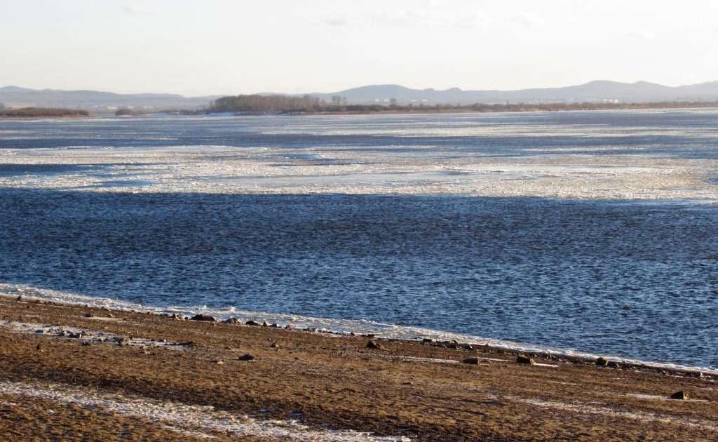 Río Amur en Javarosk