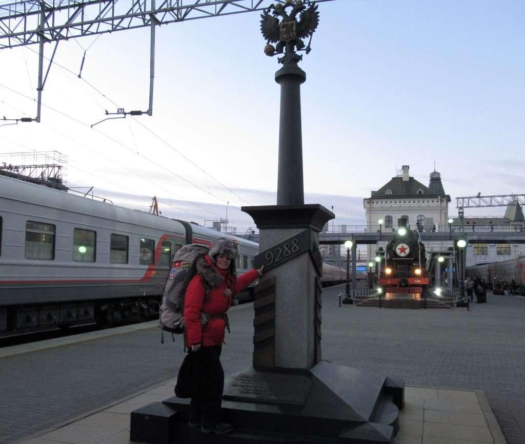 Vladivostock, fin del Transiberiano con 9288km