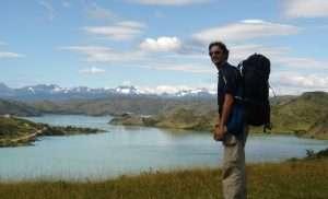 Parque Nacional Torres del Paine, lago Pehoé