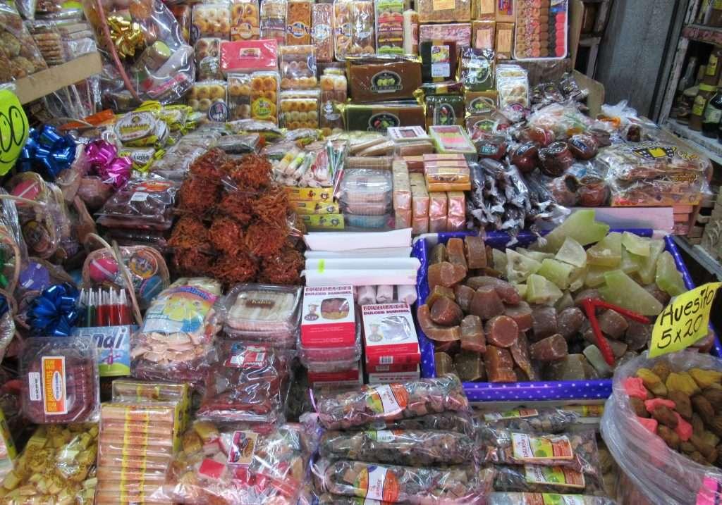 Mercado de dulces de Morelia