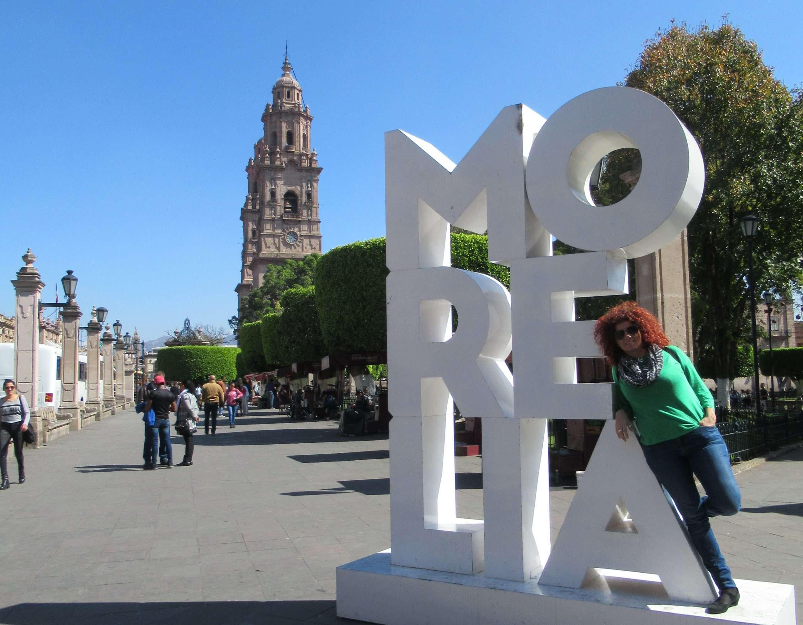 Morelia, plaza de Armas