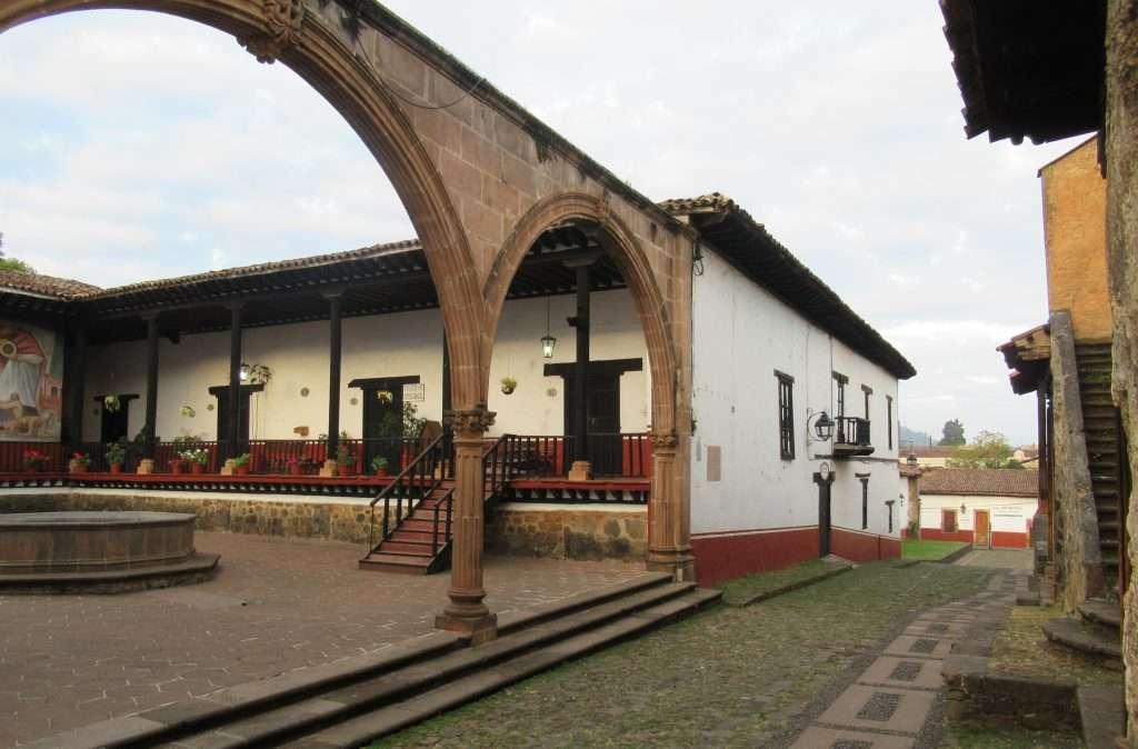 Casa de los 11 patios en Pátzcuaro