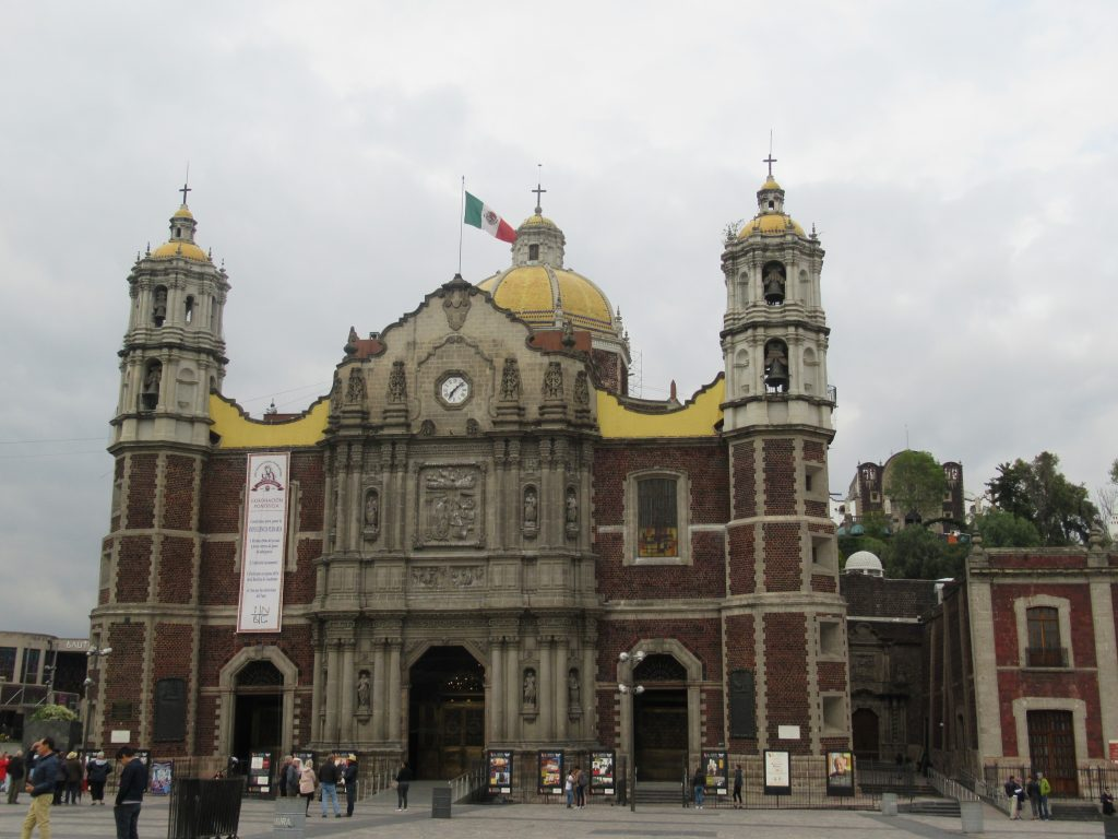 Iglesia de Guadalupe en Mexico