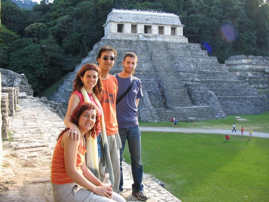 Templo de las inscripciones en Palenque