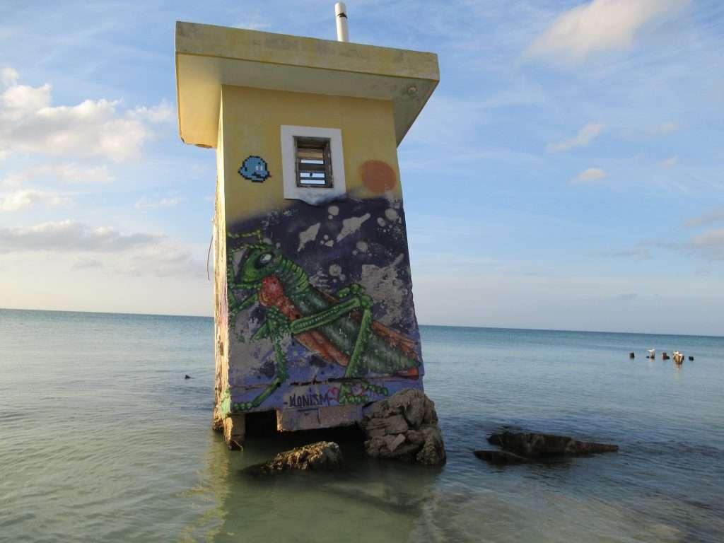 Punta Cocos - grafiti