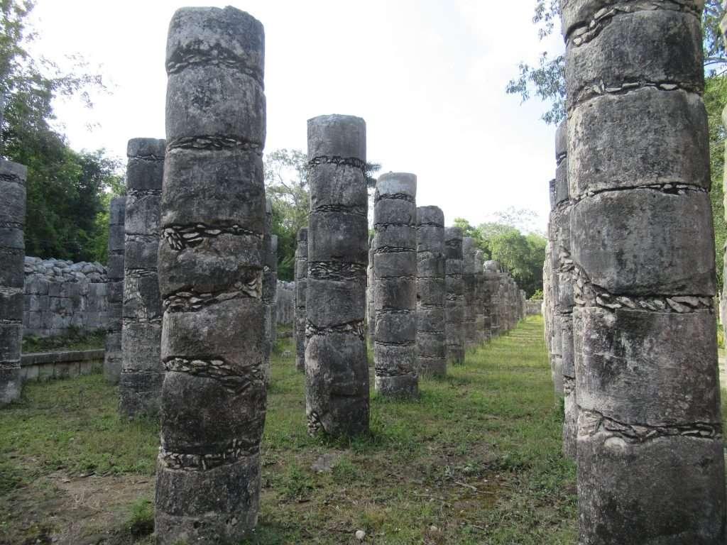Templo de los Guerreros y Mil columnas, Chichén Itzá