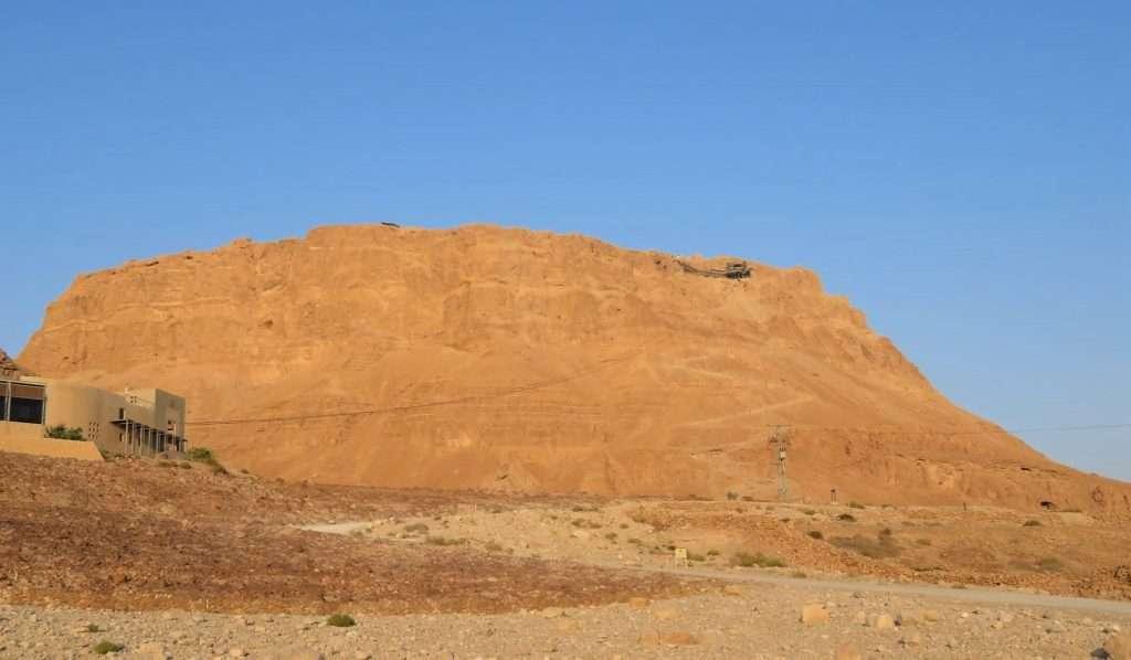 Masada, Snake path