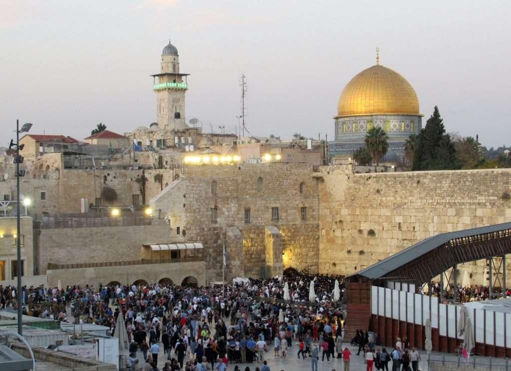 Muro de las lamentaciones en Sabbat