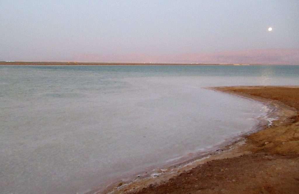 Mar Muerto del lado israelí