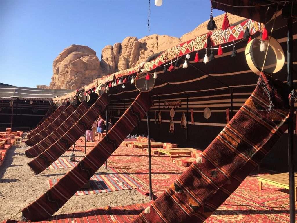 Campamento beduino en Wadi Rum