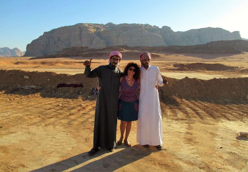 Beduinos en Wadi Rum