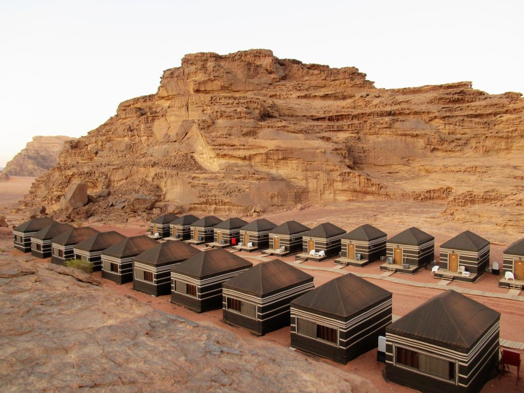 Alojamiento en Wadi Rum
