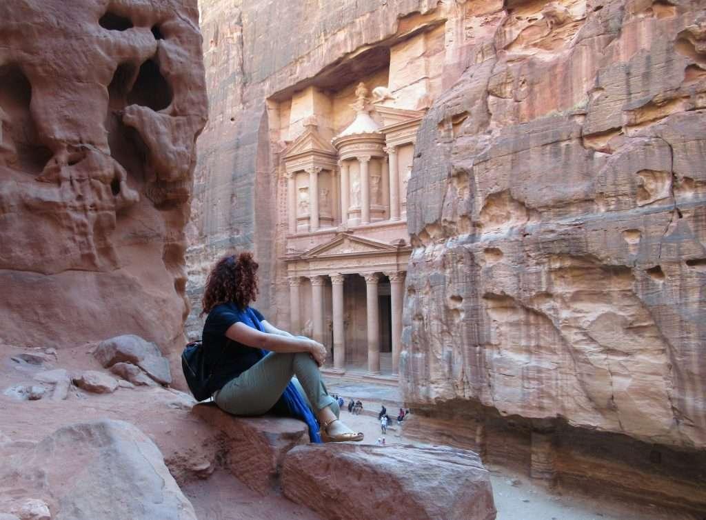 Vistas desde el mirador de Petra