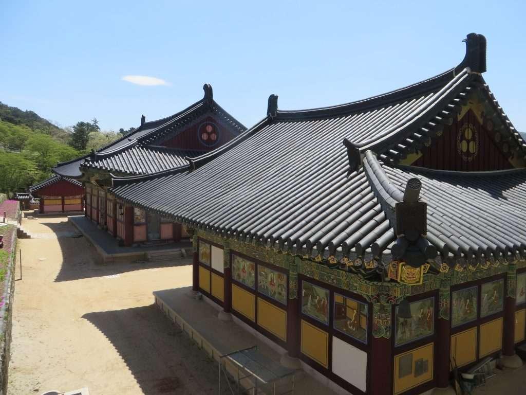 Templo Haeinsa en Corea del Sur.