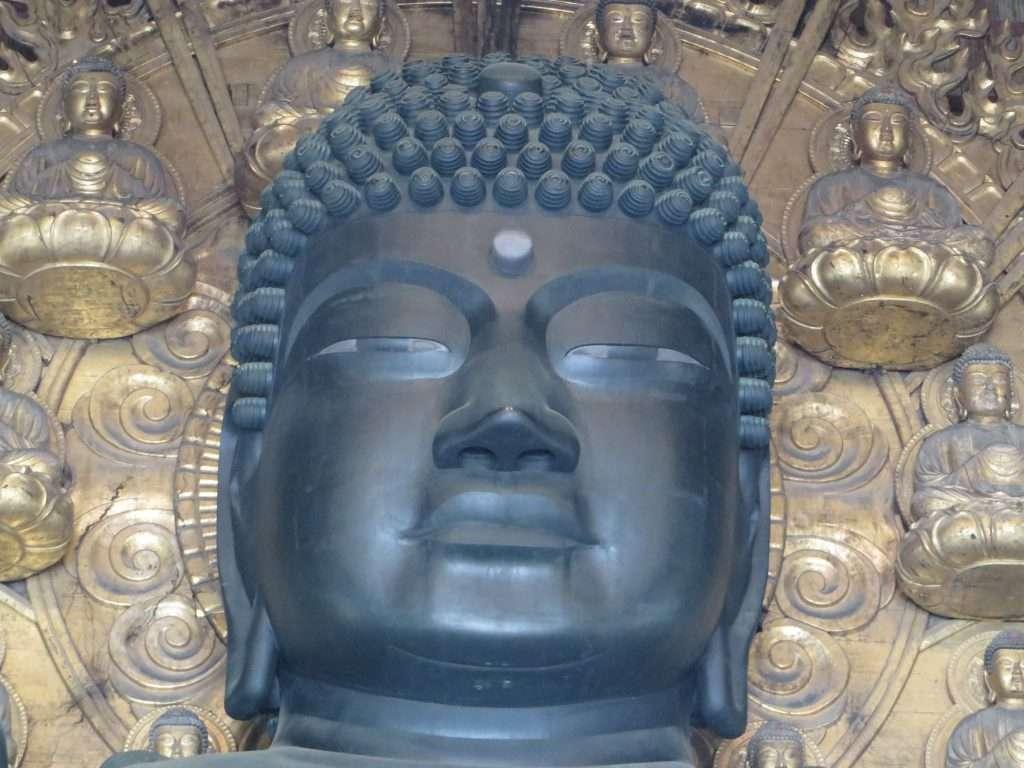 Gran Buda de Nara. Japón